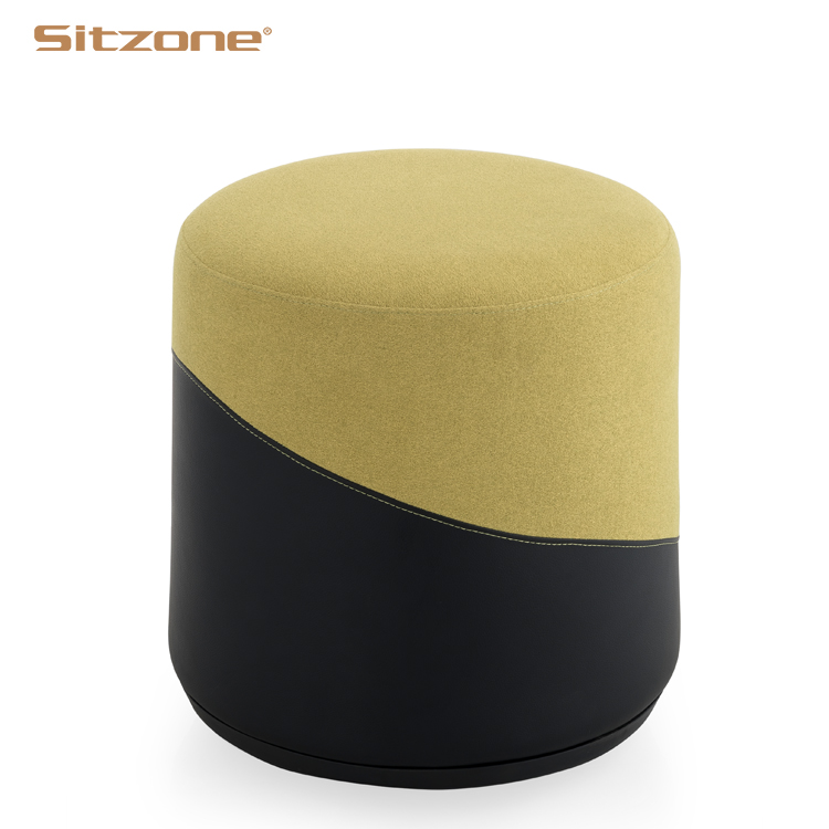 round breakout seating leather coffee table ottoman buy leather ottoman ottoman round ottoman product on alibaba com