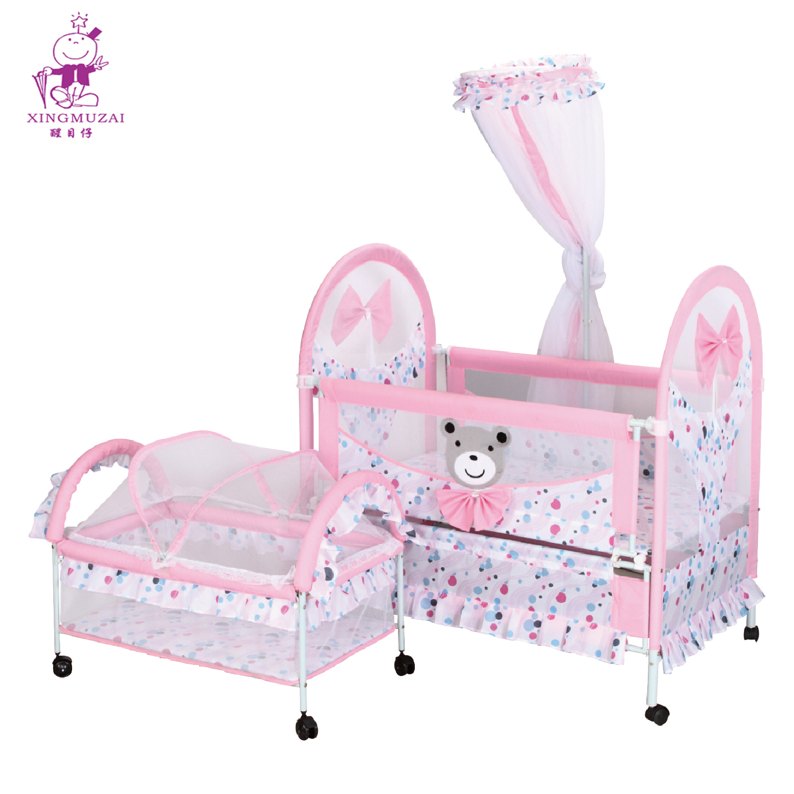 Portable Iron Metal Baby Cot Firm Children Bed With Mosquito Net Buy Baby Metal Crib Metal Firm Children Bed Portable Iron Metal Baby Cot Firm Children Bed With Mosquito Net Product On Alibaba Com