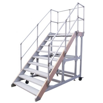 Modular Industrial Aluminum Removable Stairs Handrail Railings   Aluminium Railing For Stairs   Hand   House   Indoor   Staircase   3 Foot