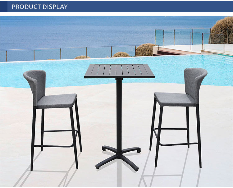kt outdoor folding patio dining table set outdoor bar table chair folding furniture for cafe hotel buy patio dining table bar table chair folding dining table outdoor table chair patio bar table