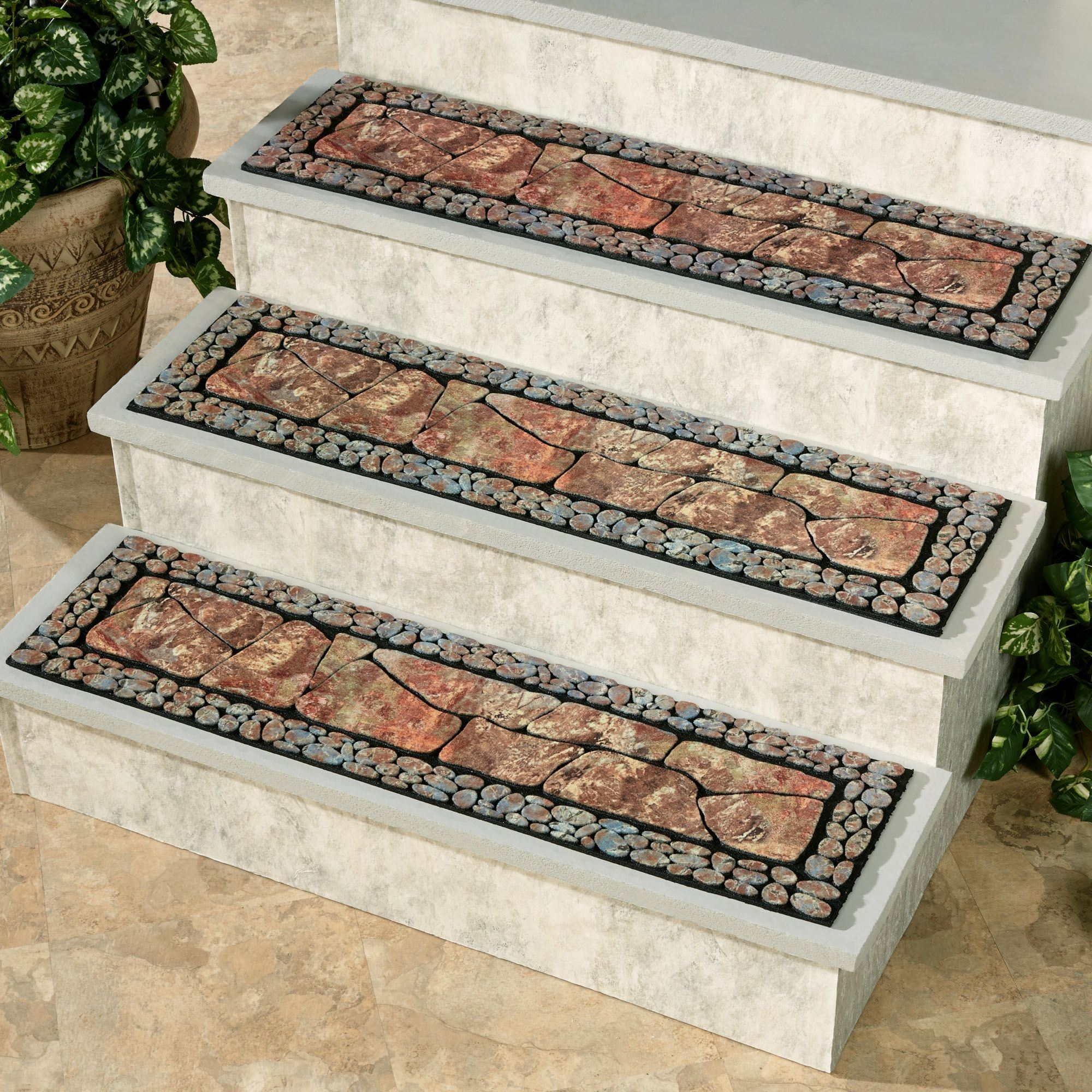 Outdoor Spiral Stair Mats Stair Case Carpet Stone Stair Tread Buy | Spiral Staircase Carpet Treads | Replacement | Carpeting | Semi Circle | Interior | Double Winder Staircase