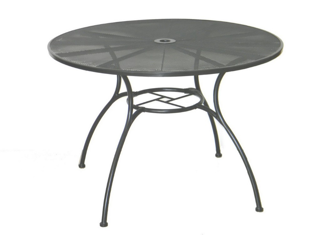 42 inch round metal mesh patio table made in china buy metal mesh patio table metal half round table vintage metal table product on alibaba com