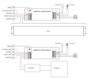 Emergency Lighting Schematic