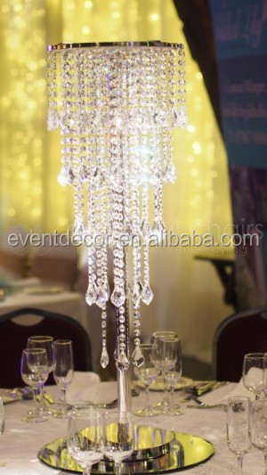 Wedding Crystal Chandelier Centerpieces Table Chandeliers For Weddings
