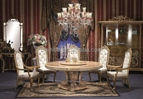 England Style Round Dining TableNoble British Windsor