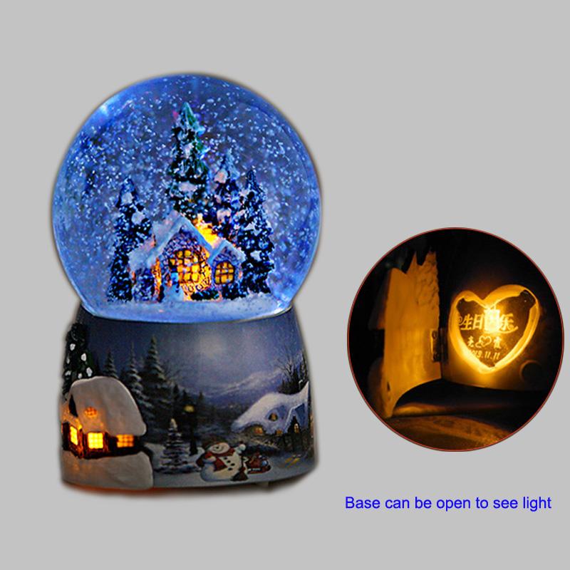 Led Christmas Snow Globe With High Quality Buy Led Snow