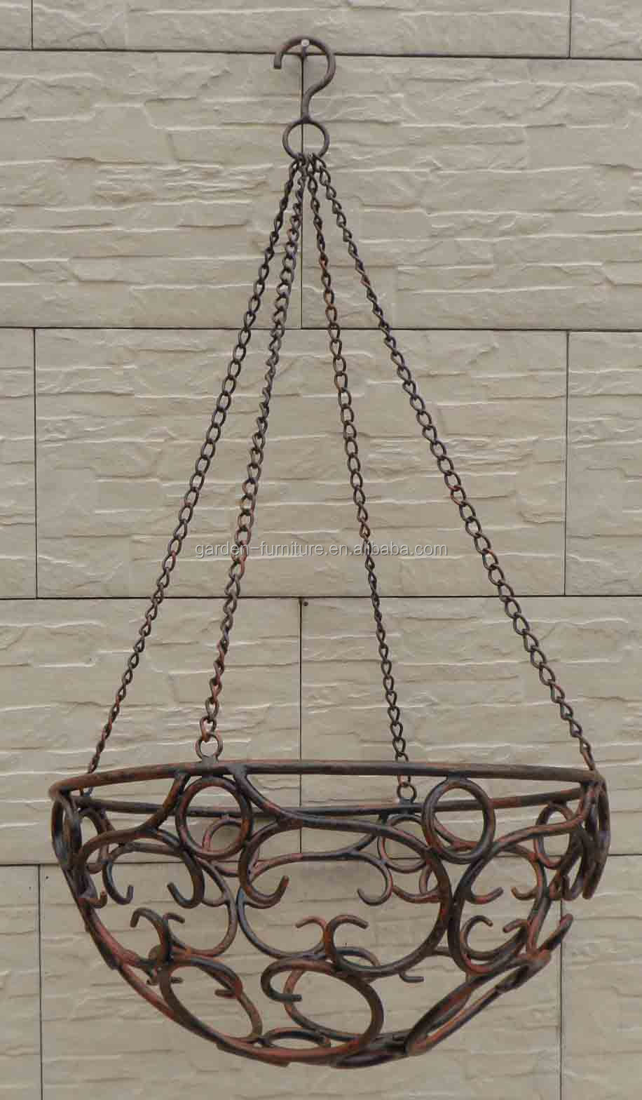 Wholesale Handicraft Garden Outdoor Decor Hanging Flower ... on Decorative Wall Sconces For Flowers Hanging Baskets Delivery id=19187