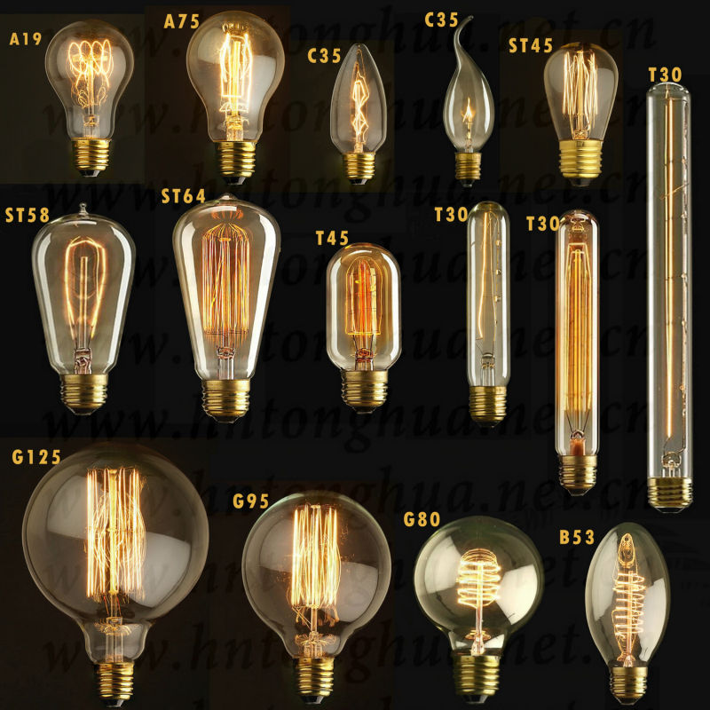 Christmas Light Bulb Types