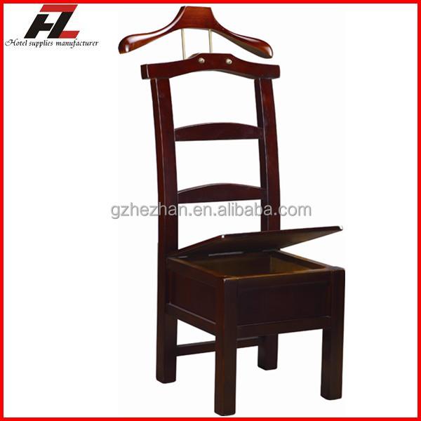 home clothes storage hanger valet stand wooden coat hanger rack manufacturer