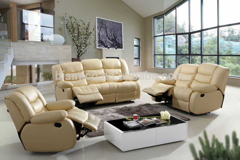 Genuine Leather Furniture Living Room
