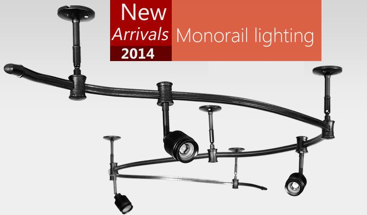 72 Monorail Track Lighting