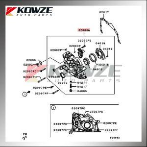Oil Pump For Mitsubishi Pajero Montero Sport Triton L200 Kg4w Kh4w Ka4t Kb4t 4d56 1064a035  Buy