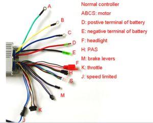 48v 26A interlligent controller for electric bike, View
