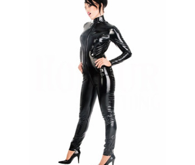F1061 Black Vinyl Lingerie Pvc Elastic Leather Silicone Catsuit Bodysuit Zentai Buy Bodysuit Zentaiglow Spandex Lycra Catsuit Zentaisexy Latex Clubwear