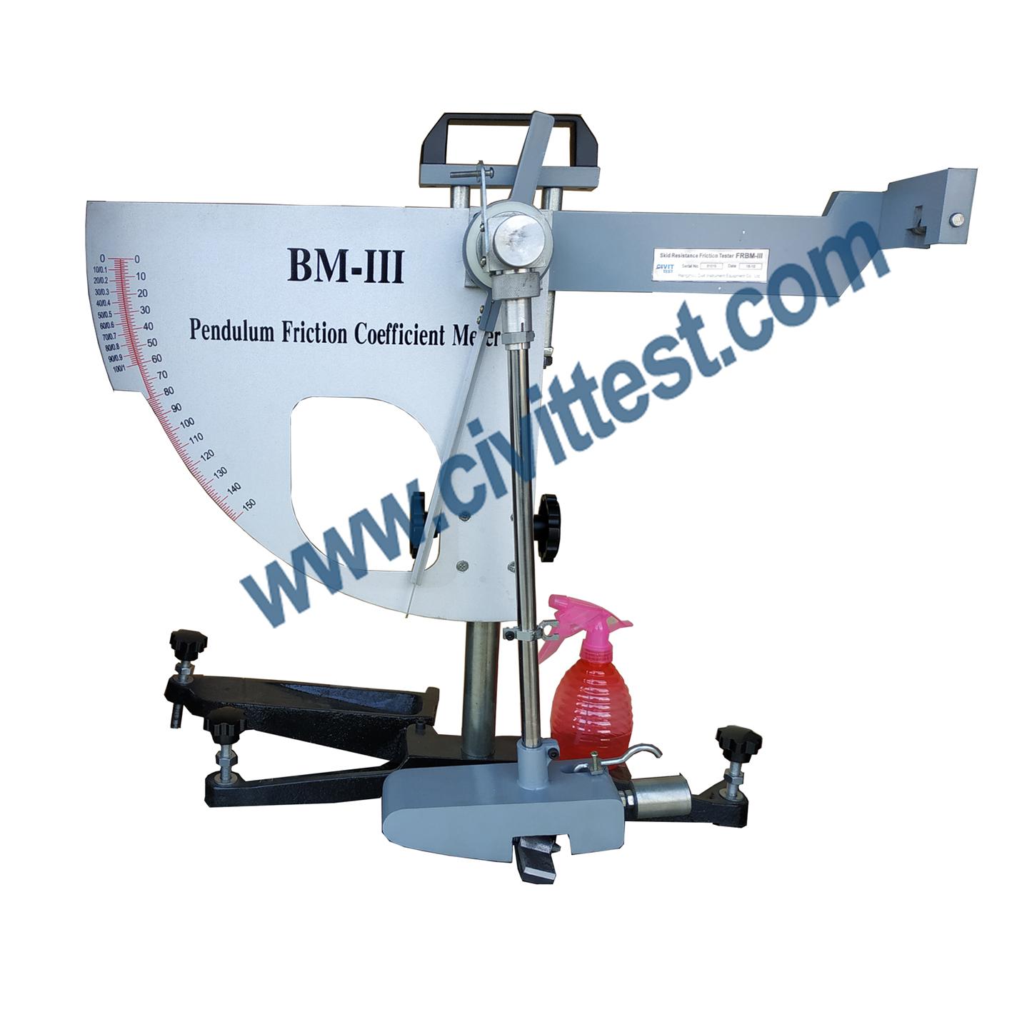 Aggregate Bendulem Skid Resistance And Friction Tester