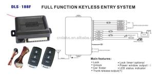 Cheap And Economic Keyless Entry System With Easycar Car Keyless Door Lock  Buy High Quality
