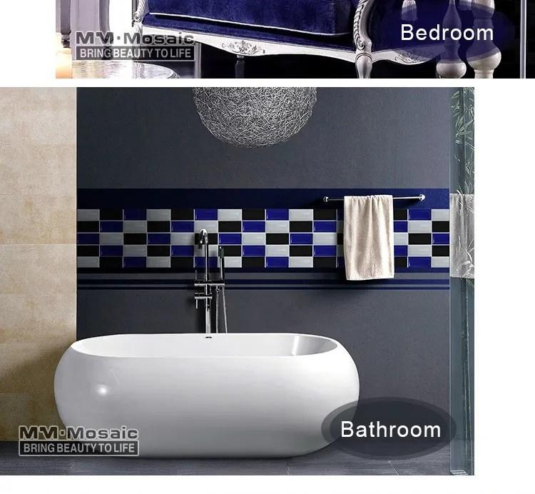 in stock bathroom 3 x6 beveled glossy cobalt blue ceramic tile subway tiles buy ceramic tile blue ceramic tile bathroom ceramic tile product on