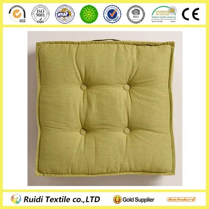 seat cushion chair pad green khadi tufted floor cushion seating sofa buy floor cushion seating sofa seat cushion chair pad product on alibaba com