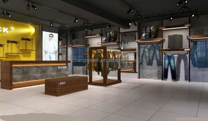 Clothes showroom interior design for Showroom interior design ideas