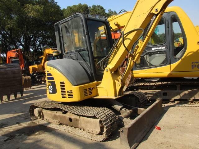 5 Ton Mini Excavator Komatsu Pc55mr 2 Pc50 Pc50uu