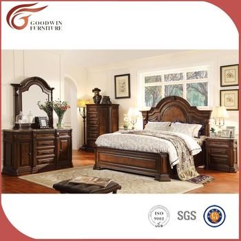 liste des fabricants pas cher prix meubles de chambre a coucher en bois massif wa150