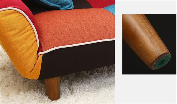 SF11 (3)  Adjustable Couch and Loveseat in Colourful Line Material Dwelling Furnishings Fold Down Couch Sofa Best for Dwelling Room, Bed room, Dorm HTB12U0UbQfb uJkSndVq6yBkpXal