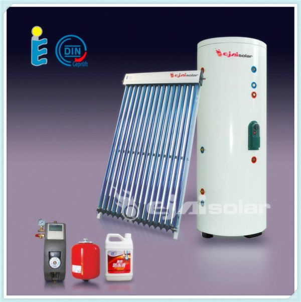 Split Pressurized Solar Water Heater,Separate Heat Pipe ...