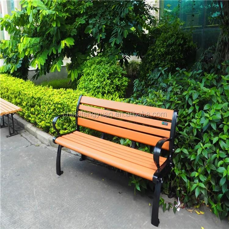 patio benches cheap street leisure modern plastic wood garden bench chair for public park outdoor furniture solar sun fun buy patio bench