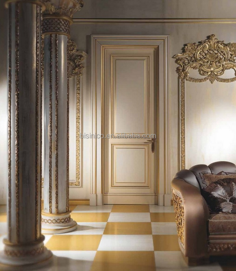 Antique Luxury Palace Entrance Double DoorEuropean Style