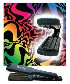 zigzag professional crimper iron by herstyler flat iron product on alibaba