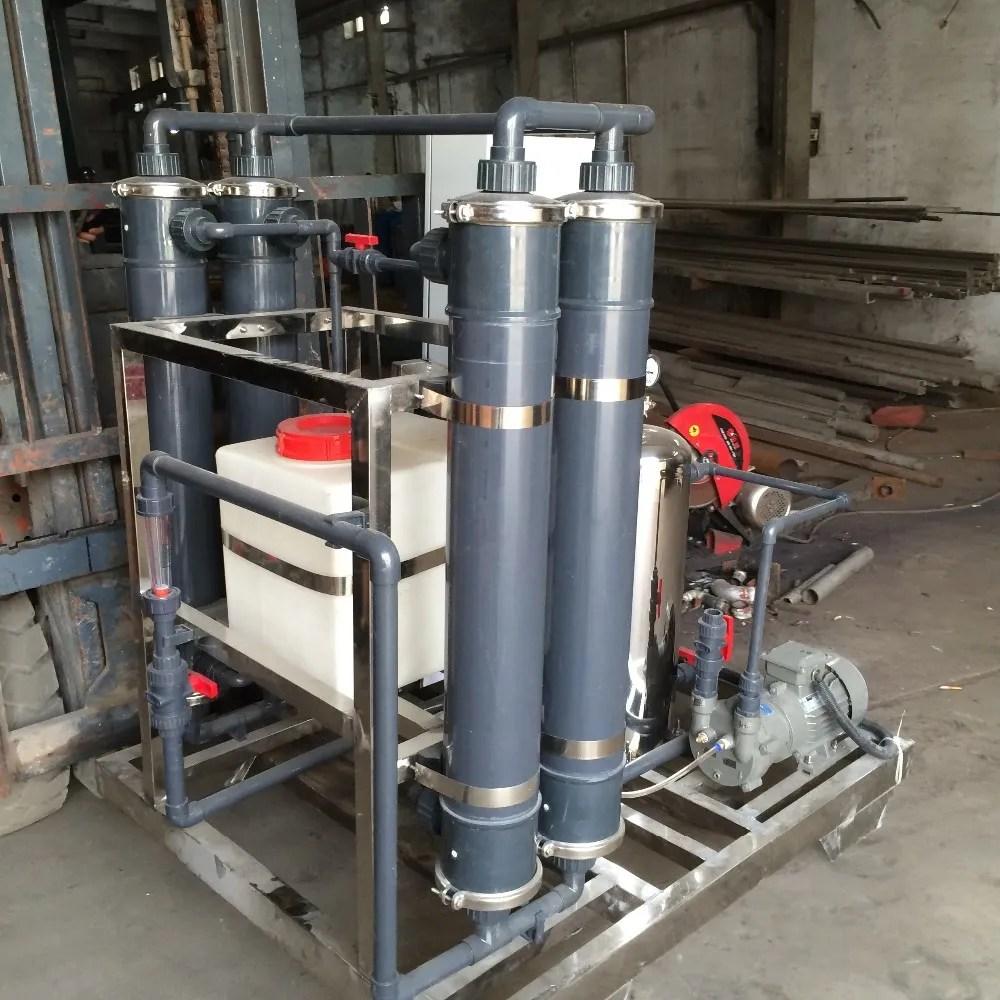Planta Do Sistema De Desgaseificação Desgaseificador Para A ...