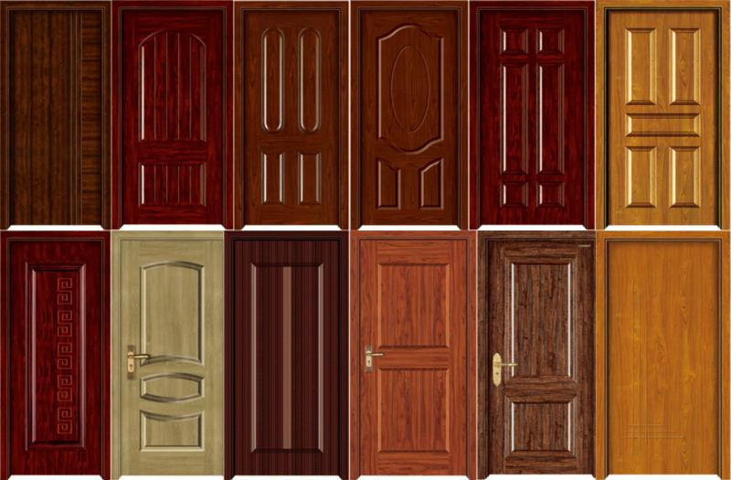 Bd Brand Prevailing Design Solid Wooden Door Single Door