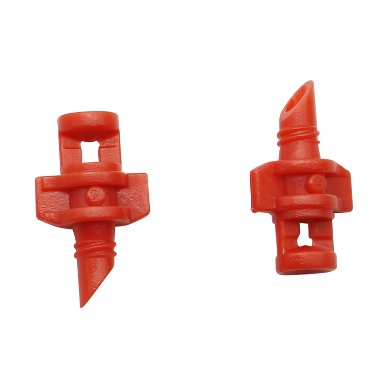 50 Pcs Garden Irrigation Simple Refraction nozzle Watering Flower Mist Nozzle Threaded connection 90/180/360 Degrees Sprayer