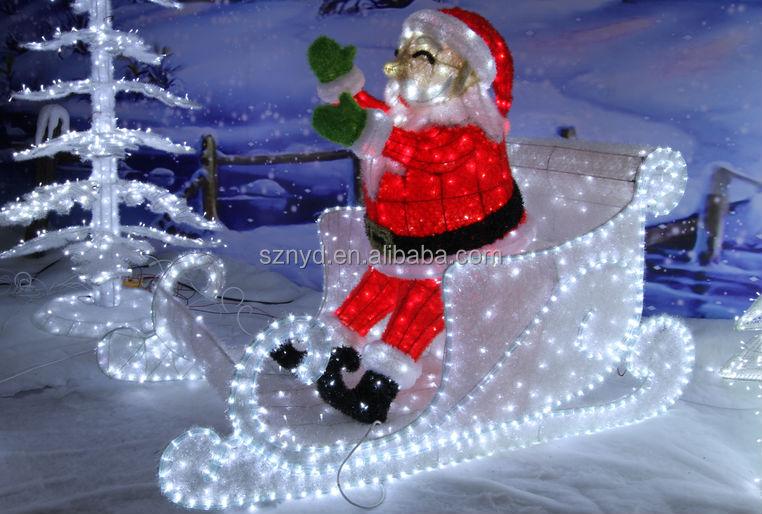 Outdoor Christmas Santa Decorations Psoriasisguru Com