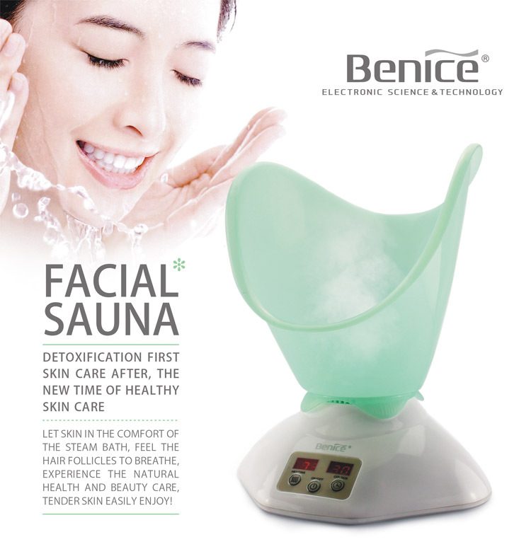 Benice cheap Home use electric Sauna steamers face professional Facial Steamer machine