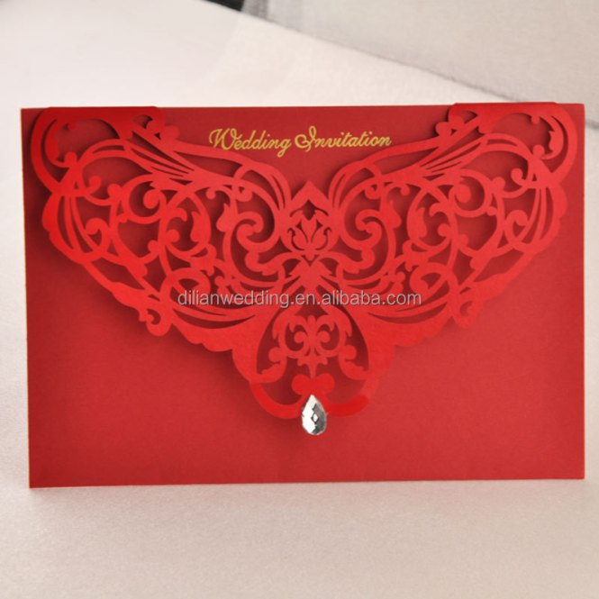 High Quality Unique Latest Wedding Invitation Card Designs Cards