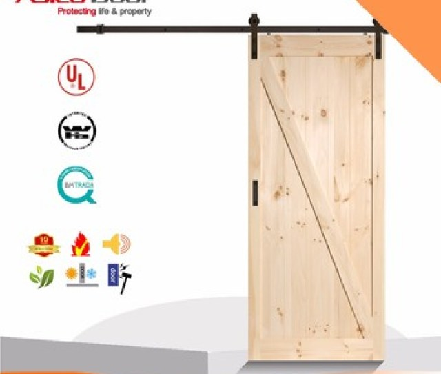 Classical Z Brace Unfinished Interior Barn Door Slab With Sliding Door Hardware Buy Barn Doorclassical Unfinished Barn Doorwood Sliding Barn Door