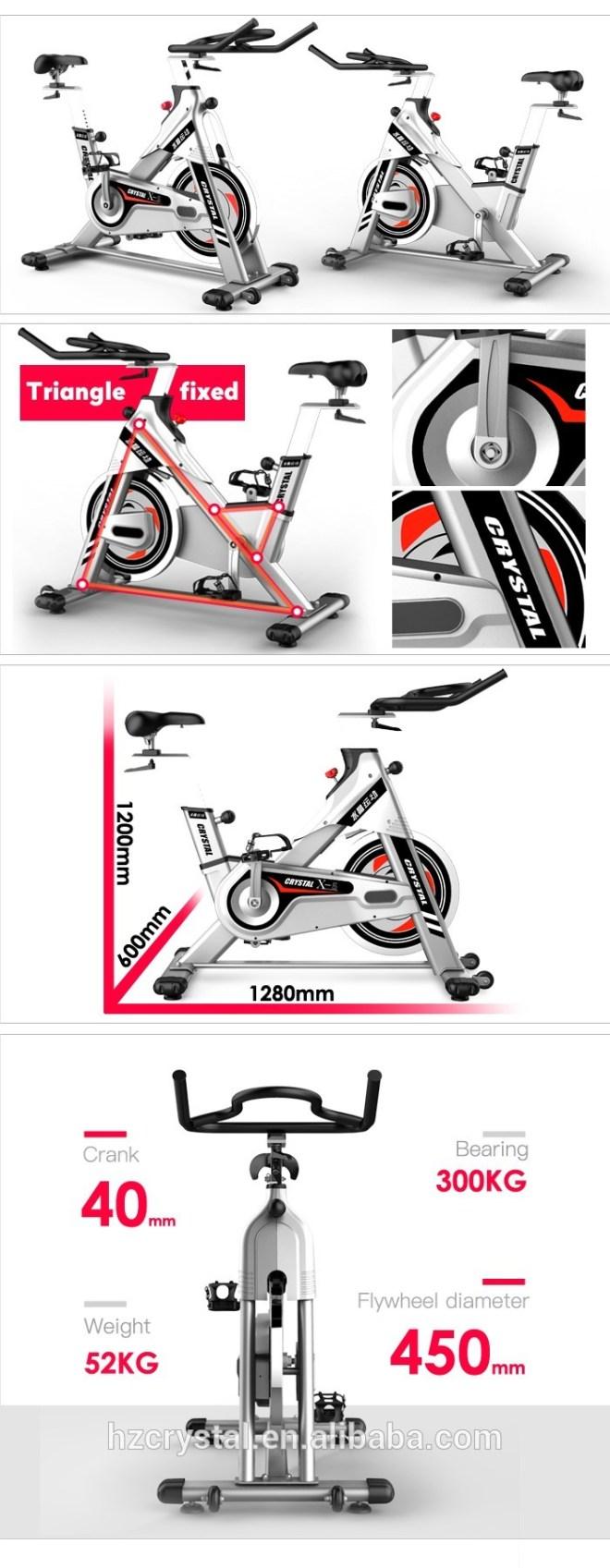 SJ-X5 Indoor Fitness Exercise Gym Equipment Spin Bike for Exercise