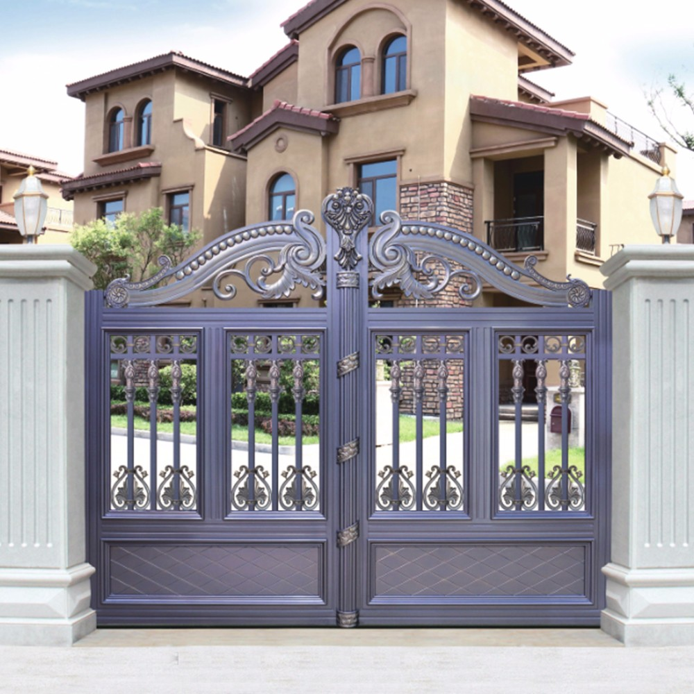 Hs-lh010 Metal Garden Gate Models Color Designs - Buy ... on Gate Color Ideas  id=30523
