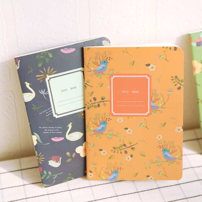 No655 China Designer School Handle Notebook Pretty Decorating Books