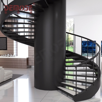 Metal Spiral Stairs Philippines Install To Big Steel Central | Installing A Spiral Staircase | Bottom | Rectangular | Alcove | 20 Step | Circular