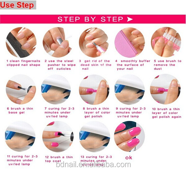 Do Your Own Gel Manicure At Home Abeautifulmess Step
