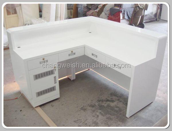 mdf conception de table de bureau en bois caisse enregistreuse