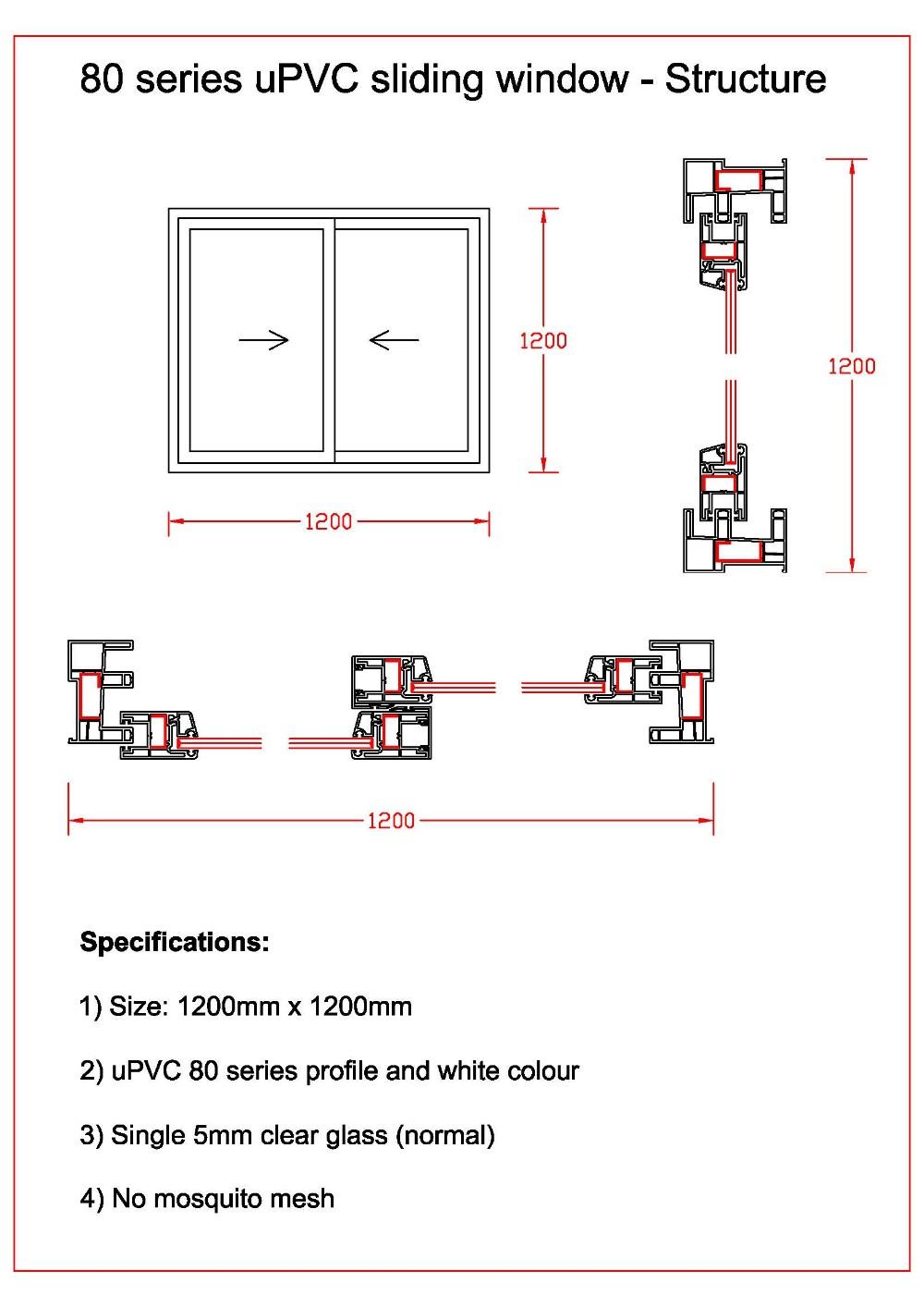 Upvc Window Frame Sizes | Siteframes.co