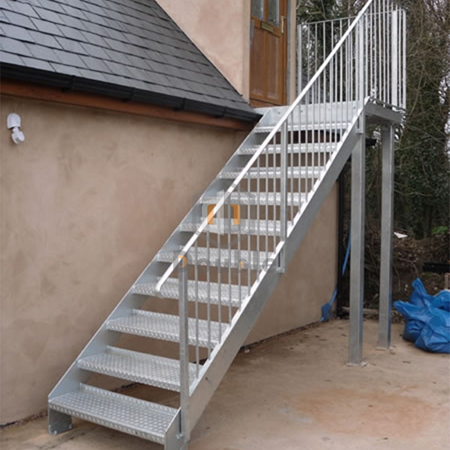 Stairs Design Outdoor   Iron Stairs Design Outdoor   Deck   Modern   Custom Canada Staircase Home   Creative   Simple