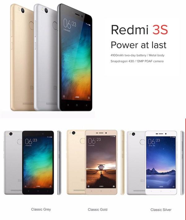 Xiaomi Redmi Red Mi 3s Price All Anti-shock New Mobile ...