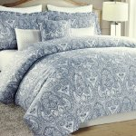 Buy Nicole Miller Boho Paisley Medallion Print Luxury Duvet Quilt Cover Bohemian Damask Pattern In Navy Blue Mauve Dusty Violet 300tc Cotton 3pc Bedding Set King In Cheap Price On Alibaba Com