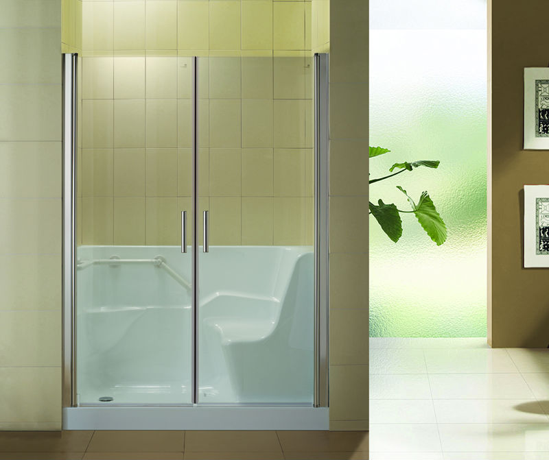 Hs B0001 Sliding Walk In Shower DoorWalk In Tub Shower