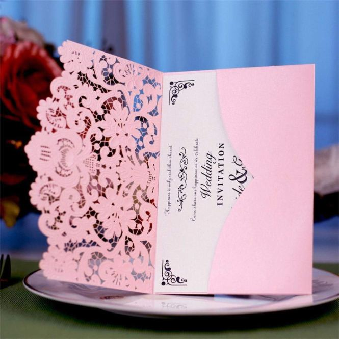 Hot Pink Wedding Invitation Find