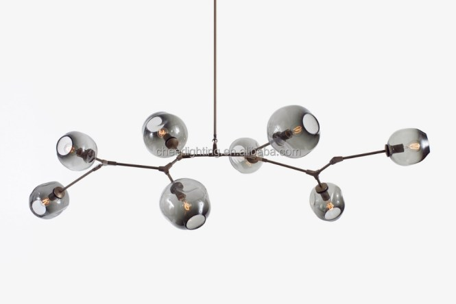 Modern Globe Branching Bubble Chandelier Aluminum Pendant Lamp Light Product On Alibaba